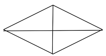 ... up of squares of equal size. What fraction of the shape is shaded